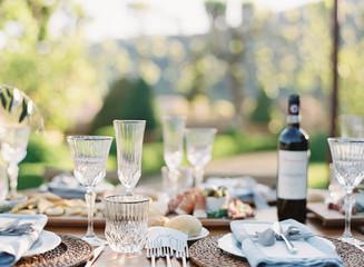 Italian Villa Wedding Decor