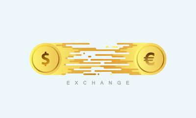Money exchange.
