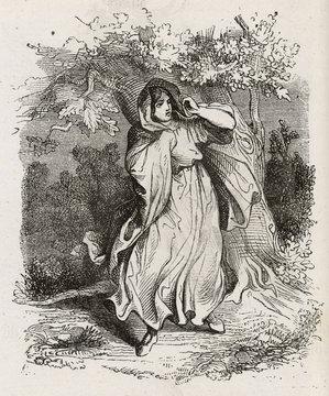 Folklore - Banshees. Date: 1863