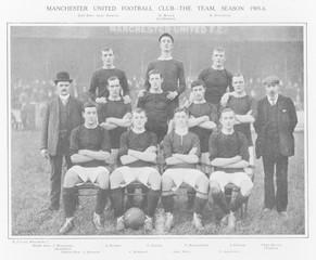 Manchester United Fc. Date: 1905