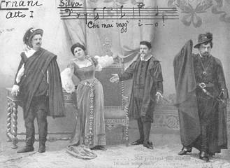 Verdi - Ernani - Photo. Date: 1844