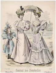 Seaside Costumes 1896. Date: 1896