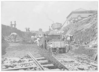 Construction Photo. Date: 1897