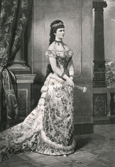 Elizabeth - Austria - Niz 77. Date: 1837 - 1898
