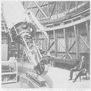 Astronomy - Observatory. Date: 1912