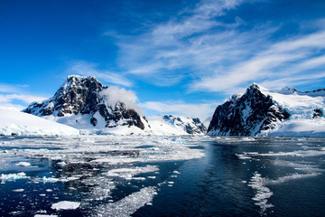 Deurstickers Antarctica Beautiful landscape in Antarctica