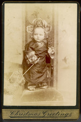 Chinese Emperor Boy. Date: 1880s