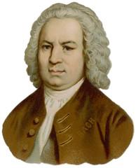 J S Bach (Portrait). Date: 1685 - 1750