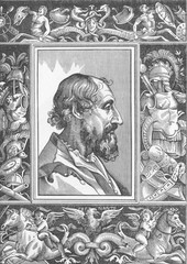 Lodovico Ariosto - Titian. Date: 1474 - 1533