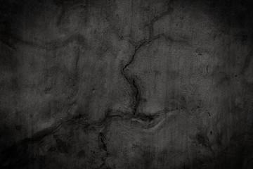 Black texture close up