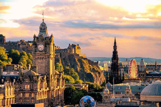 Edinburgh skyline, Scotland
