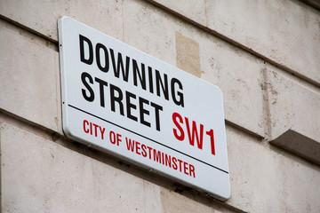 Downing Street, London, United Kingdom Wall mural