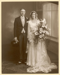 Couple  Stafford. Date: 1920s