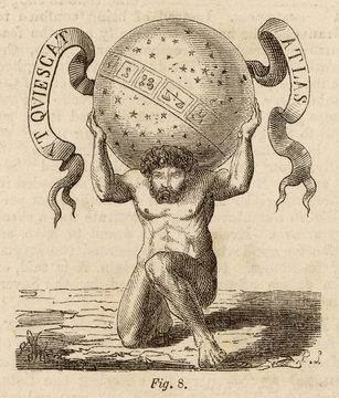 Myth - Mythology - Atlas - Heavens