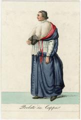 Prelate in Coppa. Date: 1833