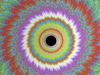 Kaleidoscope Eye - A Fractal Image