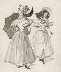 London Fashions 1830. Date: 1830