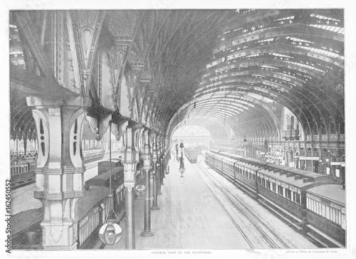 Fototapete Paddington Railway Station