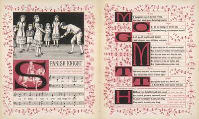 Spanish Knight song  words and music. Date: 1886