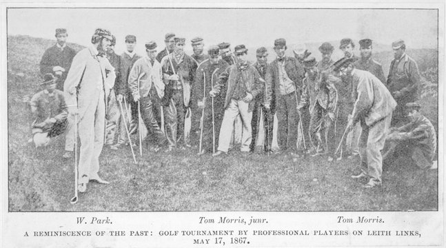 Old - Young Tom Morris. Date: 17 May 1867