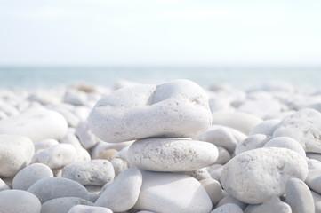 Acrylic Prints Stones in Sand Rock Arrangement
