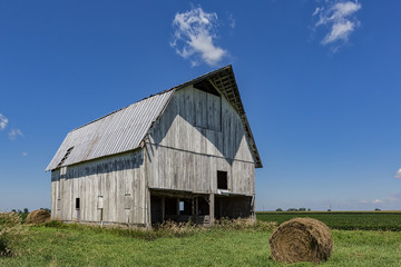 An old barn in the rural Parke County Indiana.