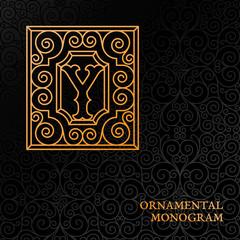 Ornamental monogram