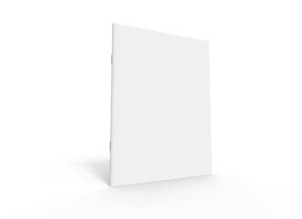 blank brochure design