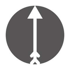 arrow indian isolated icon vector illustration design