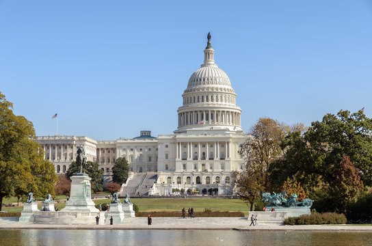 Capitol building in Washington DC, home of US Congress