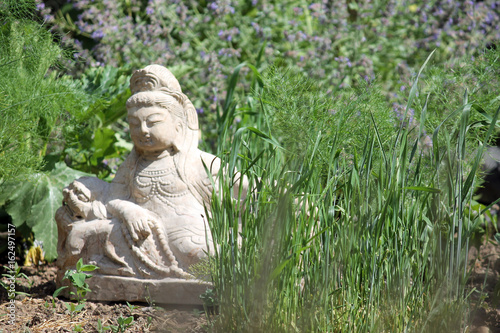 Buddha Im Garten Stock Photo And Royalty Free Images On Fotolia Com