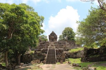 Cambodia. Preah Vihea Temple. Siem Reap . Preah Vihea Provice.