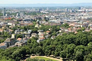 Mannheim von oben