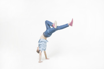 Brackdance, Bboy, virtuoso dances, breaker and hip hop