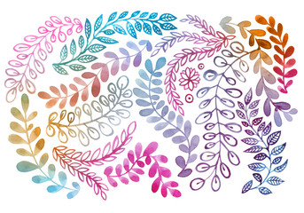 Floral background in pastel colors. Great for birthday and greeting cards, scrapbooking.