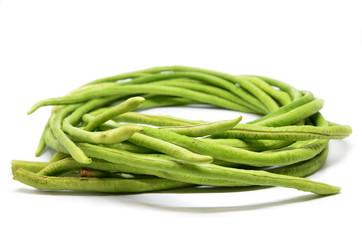 Bunch of fresh long bean