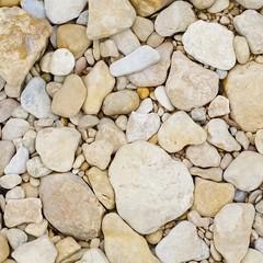 An up close look at Limestone river rocks
