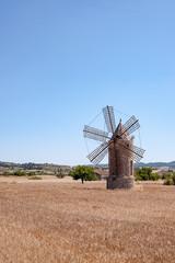Windmühle Spanien