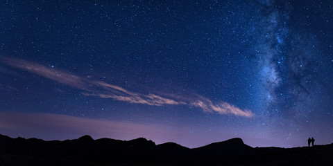 Tenerife, Teide, Minas de San José, Stars, Milky Way