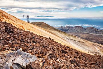 Tenerife, Pico del Teide, Cable Car Upper Station