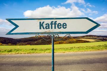 Schild 251 - Kaffee