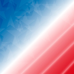 4th of July celebration background. Vector illustration.