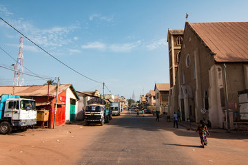 Banjul is the capital of the Gambia, West Africa