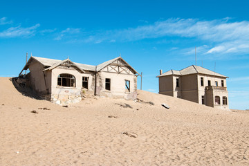 Kolmanskop ghost town and old diamond mining village, Namibia Wall mural