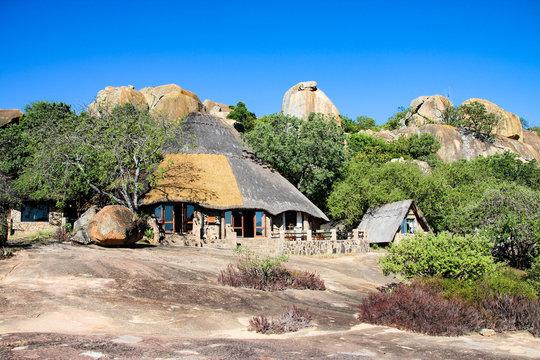 Safari lodge near Matobo National Park in Zimbabwe