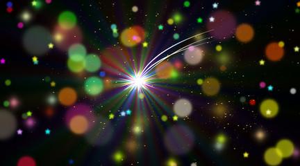 stella polare nell'infinito spazio