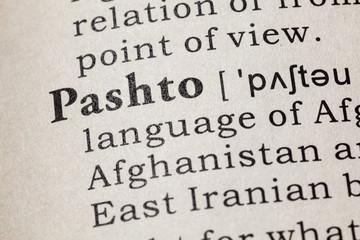 definition of Pashto