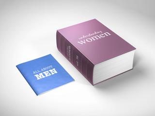sex war women are complicated 3d rendering