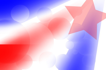 4th July independence day abstract background