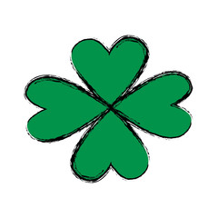st patricks day celebration four leaf clover image